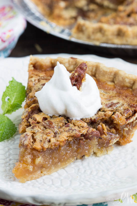 Easy. Delicious. Classic. recipe. Granny's Classic Southern Pecan Pie is a super simple crowd-pleasing dessert recipe. This delicious pie is a holiday staple in most Southern celebrations with the crunchy pecans, caramel-like nougat, and buttery flaky crust.