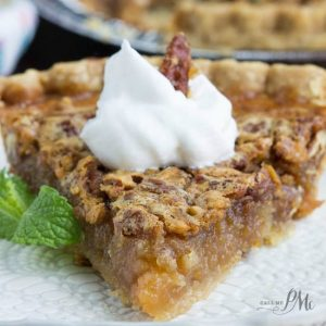 Granny's Classic Southern Pecan Pie is a super simple crowd-pleasing dessert recipe. This delicious pie is a holiday staple in most Southern celebrations with the crunchy pecans, caramel-like nougat, and buttery flaky crust.