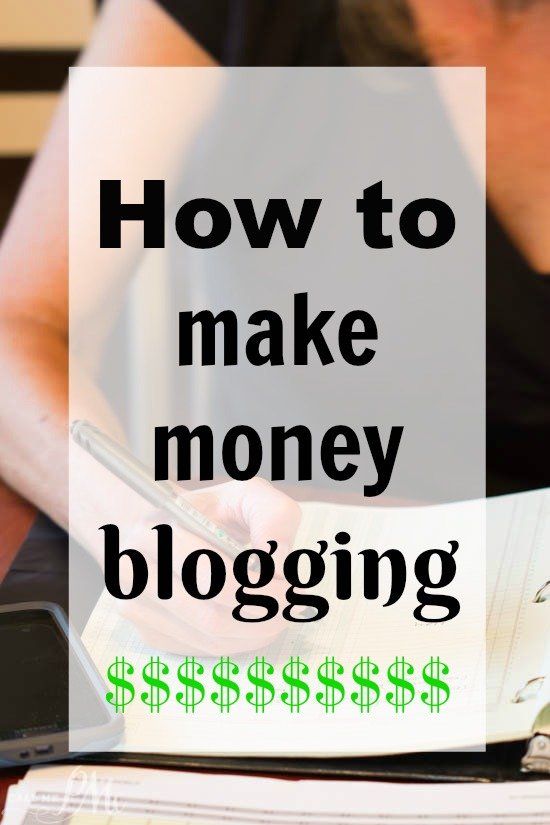 I decided to write 'How to Make Money Blogging' as a follow up to my post 'How to Start a Blog'. The really go hand in hand. As well, one of the questions I'm asked the most regarding my job is 'How do you make money blogging'?