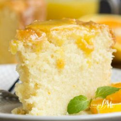 Scratch-made Orange Zest Pound Cake with Orange Curd is buttery and soft with a light citrus flavor. The Orange Curd is luscious, sweet, slightly tart, and adds just enough zing to the cake. This recipe combo is dessert heaven.