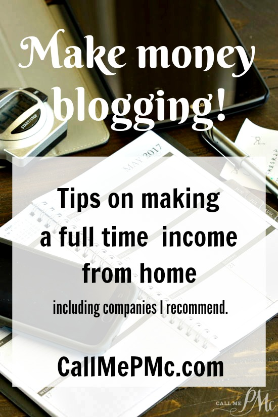 A step by step guide How to Make Money Blogging. Yes, you can make a good part time or full time income from home while making your own hours. It takes work and dedication. Read on to learn How to Make Money Blogging.