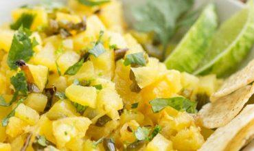 Roasted Pineapple Salsa Recipe