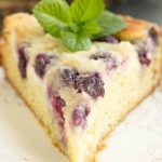Streusel Topped Blueberry Cream Cheese Coffee Cak