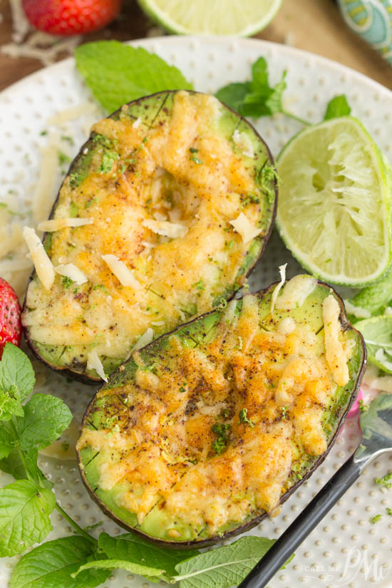 Broiled Parmesan Avocado recipe