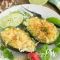 Broiled Parmesan Avocado