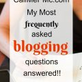 Call Me PMc Frequently Asked Questions