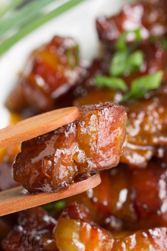 Sweet and tender, Pork Belly Burnt Ends are smoked low and slow until each bite is a nugget of super condensed flavor.