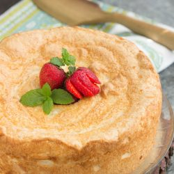 Traditional 12 Egg White Angel Food Cake
