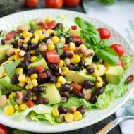 Avocado Black Eyed Pea Salad