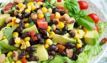 Avocado Black Eyed Pea Salad
