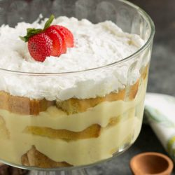 From Scratch Pound Cake Trifle