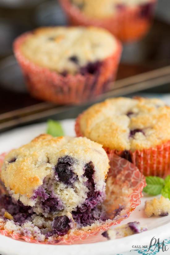Healthiest Blueberry Muffins