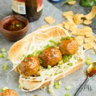 Nashville Hot Chicken Meatball Sandwich