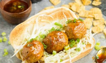 Nashville Hot Chicken Meatball Sandwich