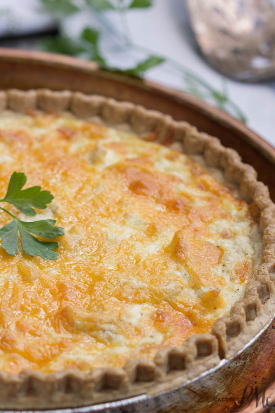 Start your morning off right with this Simply Chicken Quiche. It's one delicious recipe that's guaranteed to wow anyone.