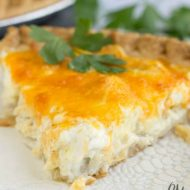 Simply Chicken Quiche