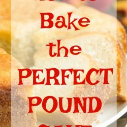 How to Bake the Perfect Pound Cake. Baking tips and tricks. Bake like a pro. I want to teach you how to Bake the Perfect Pound Cake! With just a few tips, you can have that perfectly buttery and velvety pound cake.
