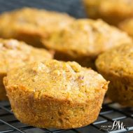 Pumpkin Pecan Pie Breakfast Muffins