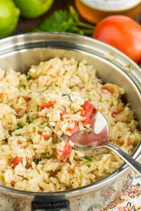 Easy Mexican Rice. As good as the rice from your favorite Mexican restaurant, Easy Mexican Rice is simple to make and full of flavor. It compliments any Mexican or Tex-Mex entree from quesadillas to fajitas to or simple tacos.