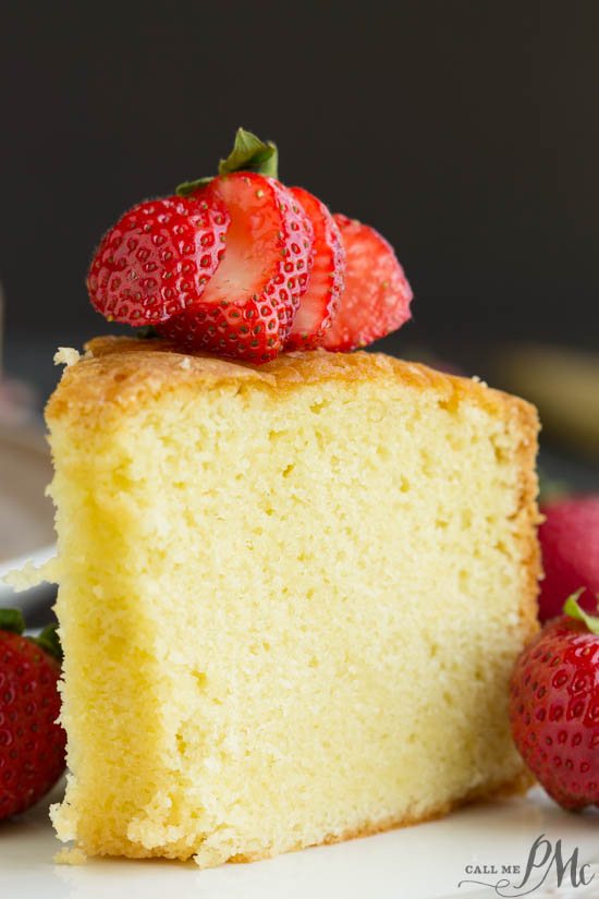 Pound Cakes Reviewed. Recipe. McCall's Best Pound Cake 1963 Version is tender and buttery with a classic vanilla flavor. Yes, there is a later version that I'll be making and sharing my thoughts on it at a later day