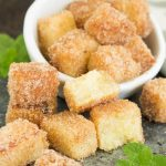 Pound Cake Churro Cubes are simple, bite-sized dessert treats that are fun to make and delicious to eat!