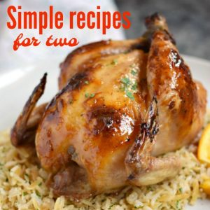 Dinner recipes for two for beginners