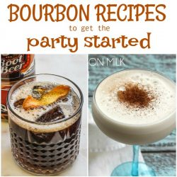 Bourbon definitely has a time and place and with a little experimentation will become one of your go-to cocktails. I collected 15+ Bourbon Cocktail Recipes to get the Party Started for you to try.