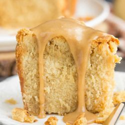 Cookie Butter Pound Cake