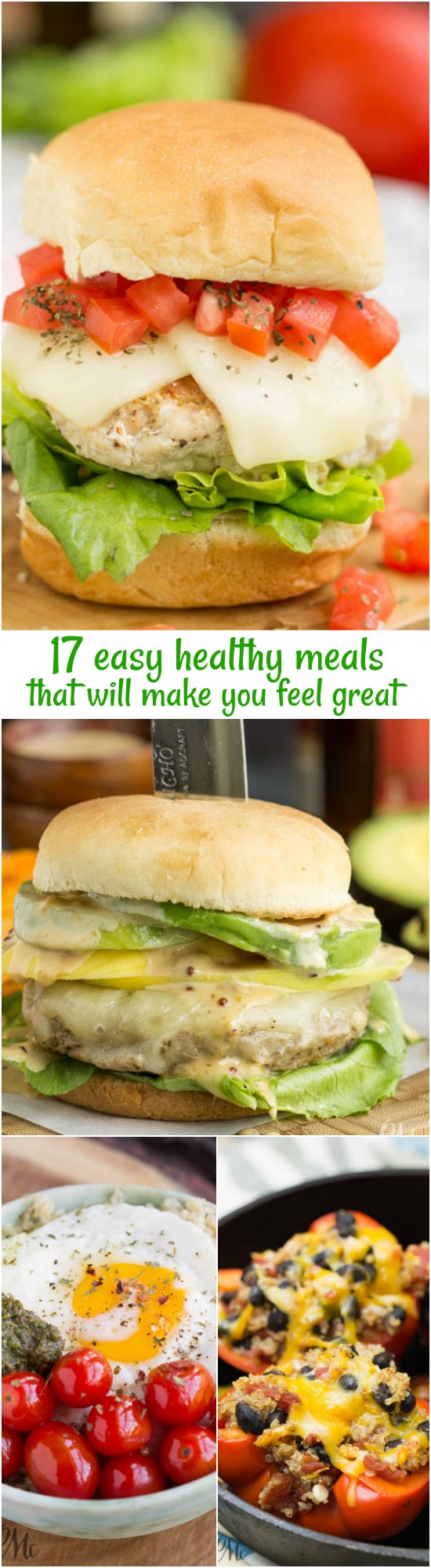 Is your resolution to start eating healthier? Do you want to make some changes in your diet? Start your year with healthy deliciousness with my 17 Easy Healthy Meals that Will Make You Feel Great!