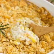 Baked Creamed Corn Casserole Recipe | No 'cream of' soup