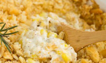 BAKED CREAMED CORN CASSEROLE RECIPE | No 'cream of' soup