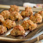 Sausage Balls with Bisquick, a two-bite biscuit that's great for breakfast or snack. Sausage balls are the ideal food for parties, after school, or brunches. They're quick and easy to make and can be made early and frozen until you're ready to cook them.