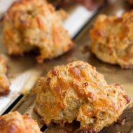 Sausage Balls with Bisquick Baking Mix