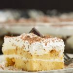 This Tiramisu with Pound Cake is a rich and elegant dessert. It has bold flavors of coffee and amaretto to warm you up in winter. I took the classic Italian tiramisu dessert revamped it the Southern way. My version has layers of a cream cheese mixture alternate with fluffy pound cake soaked with coffee and amaretto make this an unforgettable dessert.