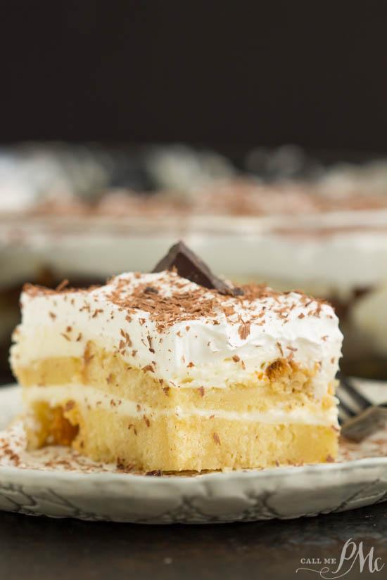 Ladyfingers Cream Cheese Cake