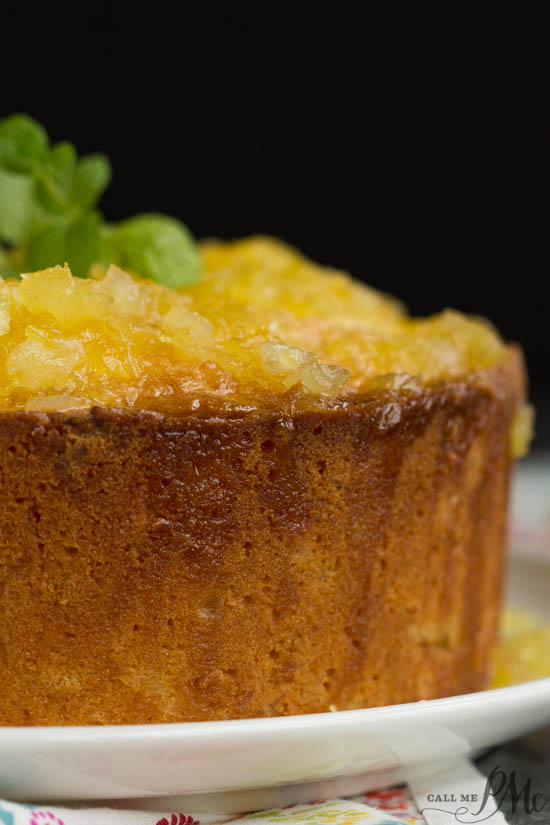 A taste of the tropics, two step pineapple pound cake, is super moist and exceptionally easy to make in just two steps.