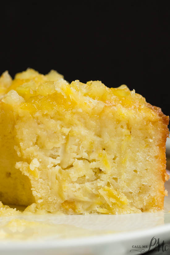 A tasteof the tropics, two step pineapple pound cake, is super moist and exceptionally easy to make in just two steps.
