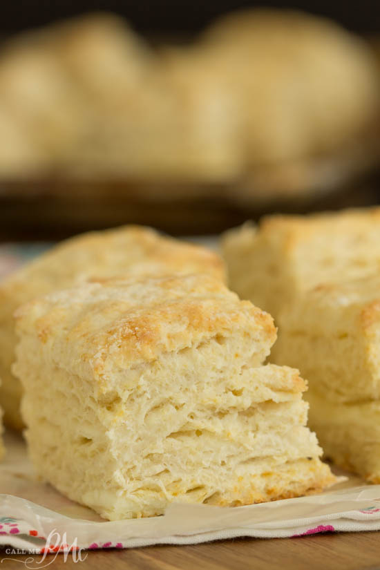 Fluffy and tender Cream Cheese Buttermilk Biscuits are made with butter, cream cheese, and buttermilk. Bake up a batch of this homemade biscuit recipe, they're easy and tasty!