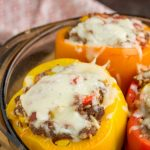 Instant Pot Stuffed Bell Peppers make a delicious balanced meal of beef, rice, and vegetables. An Instant Pot pressure cooker speeds the cooking process, making getting on the table quicker and more stress-free.