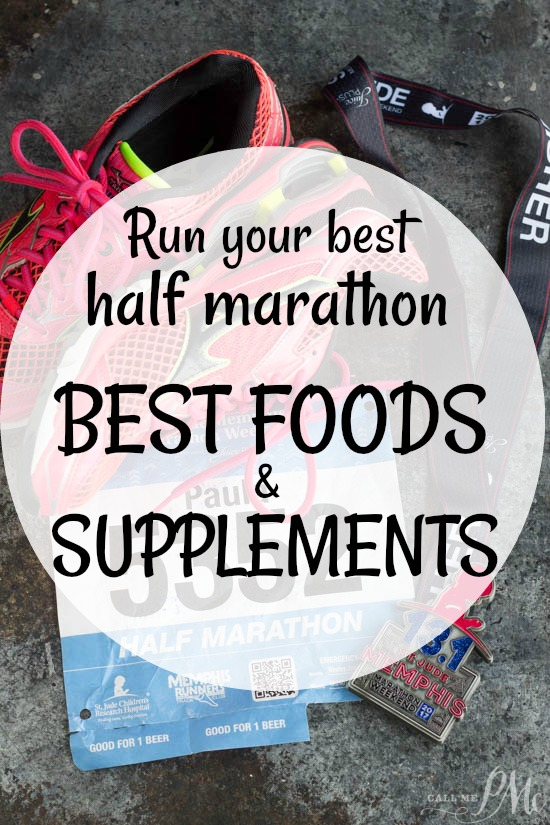 Countdown Tips to Run Your Next Half Marathon | Best Foods and Supplements - What you eat from when you start training to post-race recovery is important. Eating a balanced diet and giving our body the nutrients it needs it critical for your success.