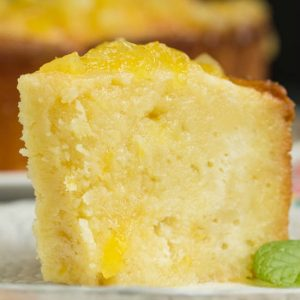 Two Step Pineapple Pound Cake