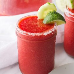 Strawberry Cucumber Margaritas-