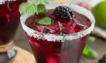 Blackberry Lemonade Margarita Smash