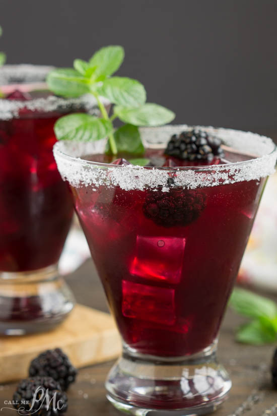 Blackberry Lemonade Margarita Smash