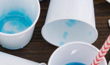 BLUE LAGOON JELLO SHOTS