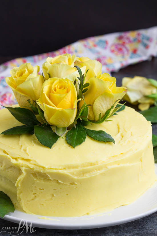 Every bite of this Lemon Layer Cake with Lemon Curd and Lemon Buttercream bursts with lemon flavor. A wonderfully moist lemon cake is layered with velvety smooth lemon curd and frosted with fresh lemon buttercream.