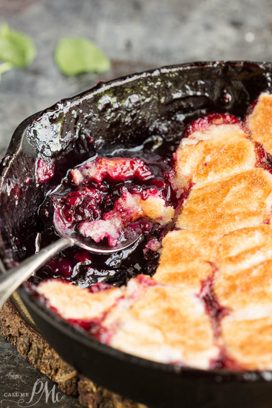Grandma's Old Fashioned Blackberry Cobbler recipe