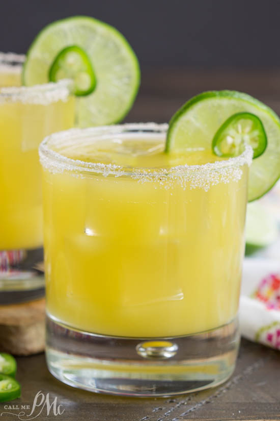 A little tart, a little sweet, and completely refreshing, Pineapple Margarita will be your favorite cocktail this summer!