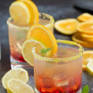 Best Damn Sunset Margarita Cocktail