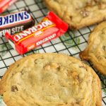 Quarter Pound Chocolate Candy Bar Cookie Recipe is irresistibly good. When you can't decide between a cookie and a candy bar, combine the two for an extraordinary dessert!